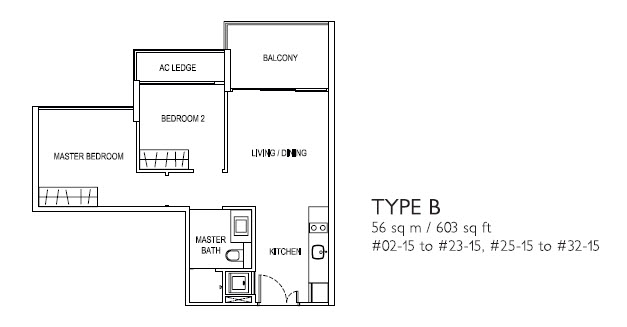 2 Bed Type B