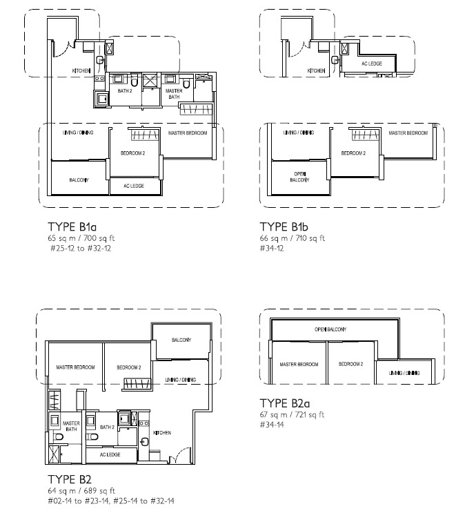 2 Bed Type B2
