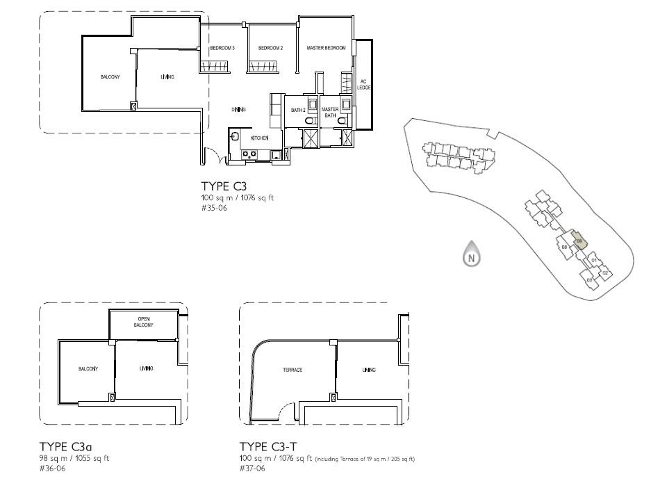3 Bed Type C3